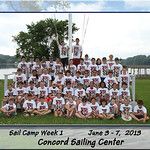 Concord Sail Camp : 7 galleries with 658 photos