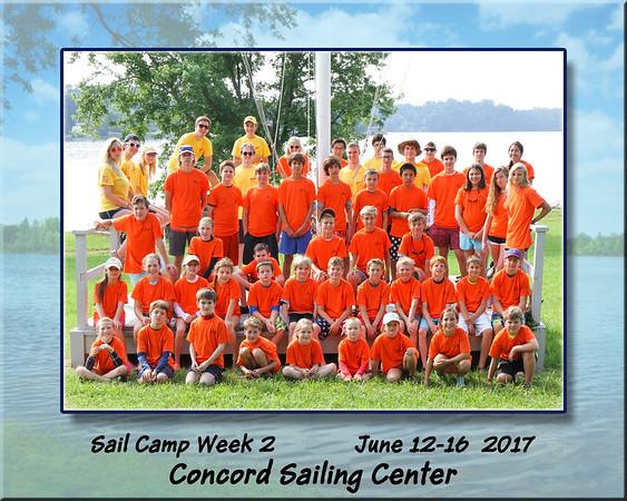 Concord Sail Camp 2017