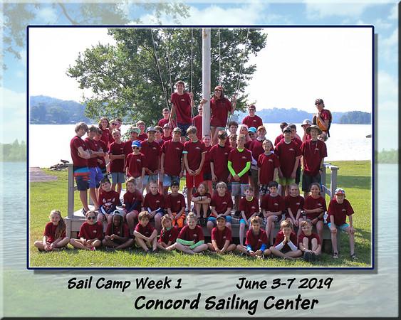 Concord Sail Camp 2019