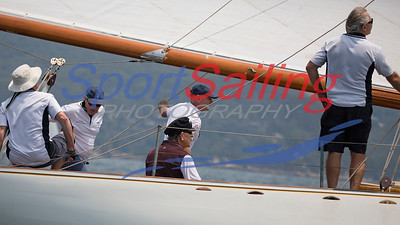 Nerida in the CYCA Classic Boat Regatta 2019
