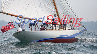 Nerida in the CYCA Classic Boat Regatta 2019