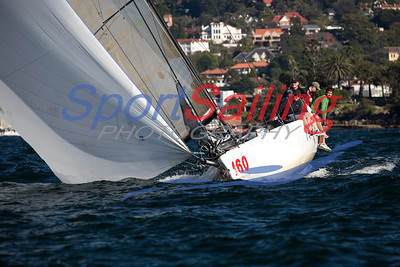 Crusader - CYCA Winter Series race 10