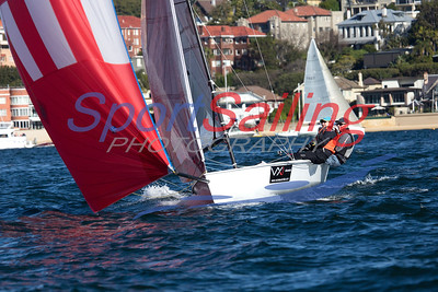 VX One - Tachyon, CYCA Winter Series 2013 - race 10