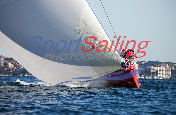 Southern Excellence II - race 10 of CYCA Winter Series 2013