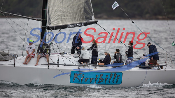 Kirribilli - CYCA Winter Series 2014