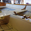 I liked this centerboard setup on another boat in the workshop