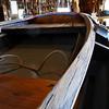 Wood checking along the inner gunwale