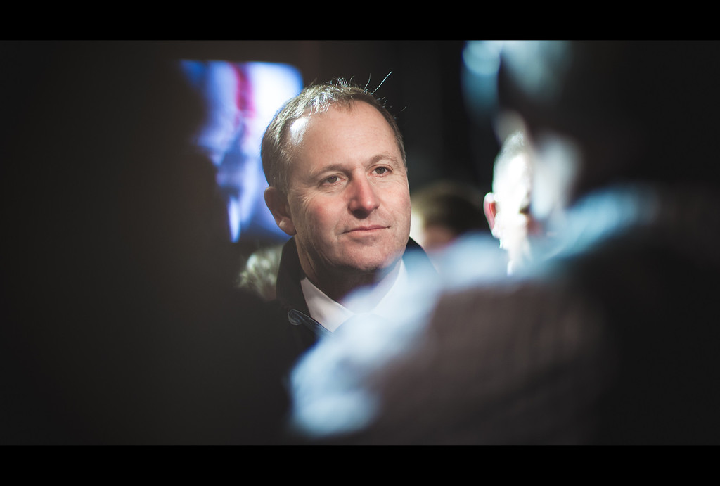 john key prime minister new zealand interview emirates team new zealand americas cup auckland