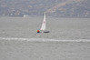 Stephen Orosz  with Corinthian yacht club and Tiburon California in the background. Rare to sail SF Bay at these angles. I beleive I heard John Craig say the wind was out of 193 most of the day.