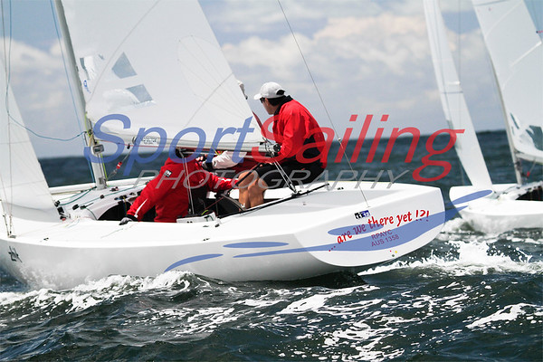 Mark Richards on 'Are We There Yet?' at the Etchells Nationals 2012