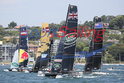 Extreme Sailing Series - Sydney Act 8