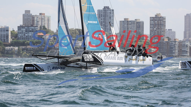 Oman Air - Extreme Sailing Series - Sydney 2016