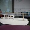 Mast fully lowered.<br /> Thanks to Chipper Daley for all his help with building the model!