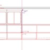 Draft of the centerline section. Not shown: leeboards/off-center boards, which have not yet made it into the construction drawing. I'll post the finished version when it's done.<br /> Drawing by Christopher Lariviere