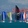 Final day of racing  - star line off HIYC, Division 1