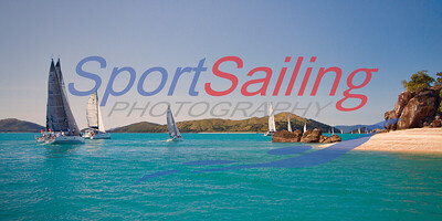 Panoramic shot - Hamilton Island Race Week 2014