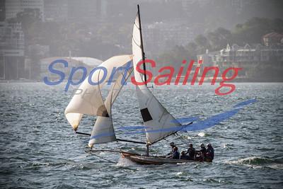 Historic 18ft Skiffs Australian Championships 2013