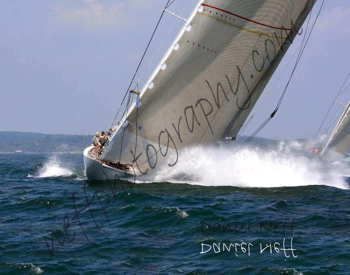 Starboard layline