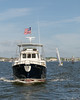 """Peggy B"" departs Annapolis"