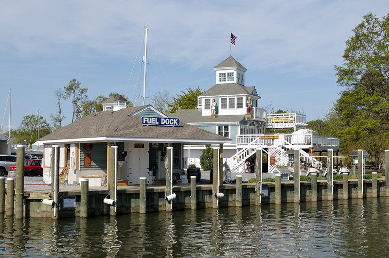 Fuel Dock at Haven Charters