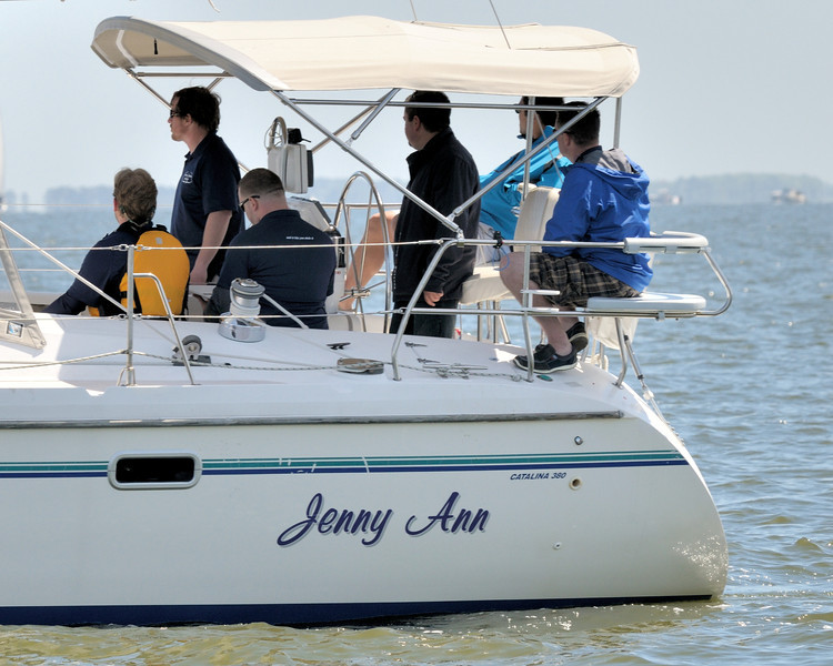 "Camera shy on the ""Jenny Ann"""