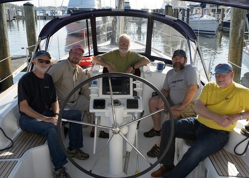 """Crew of """"Sea Ya"""""""