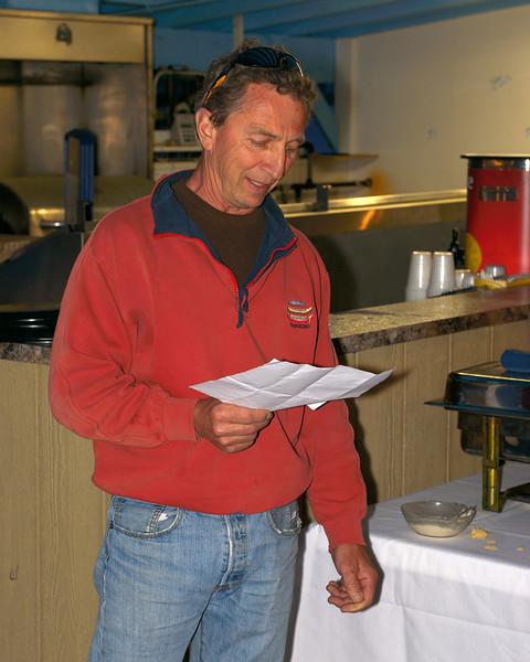 Greg Snyder Delivers the KYC Address