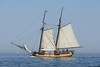 Old-time Schooner