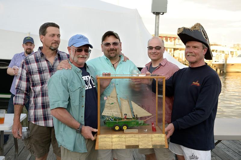 "Winning Crew of ""Greybird""...Well Sailed Race!"