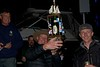 "Ty Synder with Brother Cody (R) of ""Rum Bob"" Hoists the Gen X Trophy (9th place overall)"