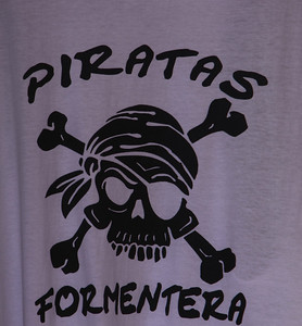 Foments of Formentera, a Spanish Jolly Roger.