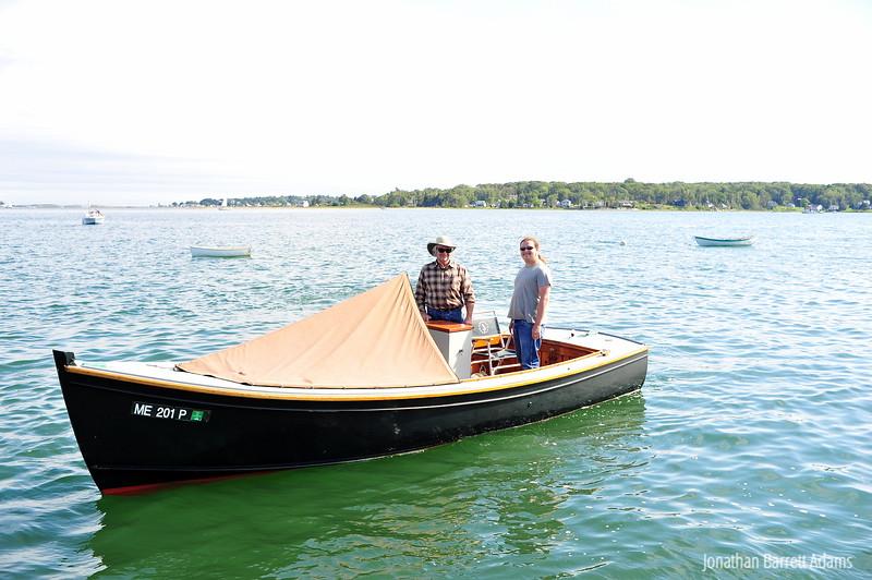 David & Gus, Chase Boat Pilots