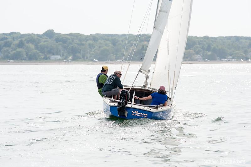 Panacea Close Hauled with Crew