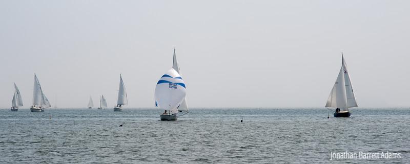 Racing Downwind