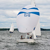 Nessie flying Spinnaker