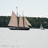 Schooner Alert with Panacea post-race