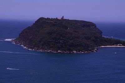 Lighthouse, Barenjoey Headland.