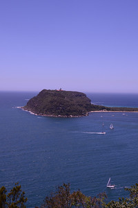 Barrenjoey Headland, at the entrance to the Pittwater.