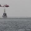 USCG helo training operations.