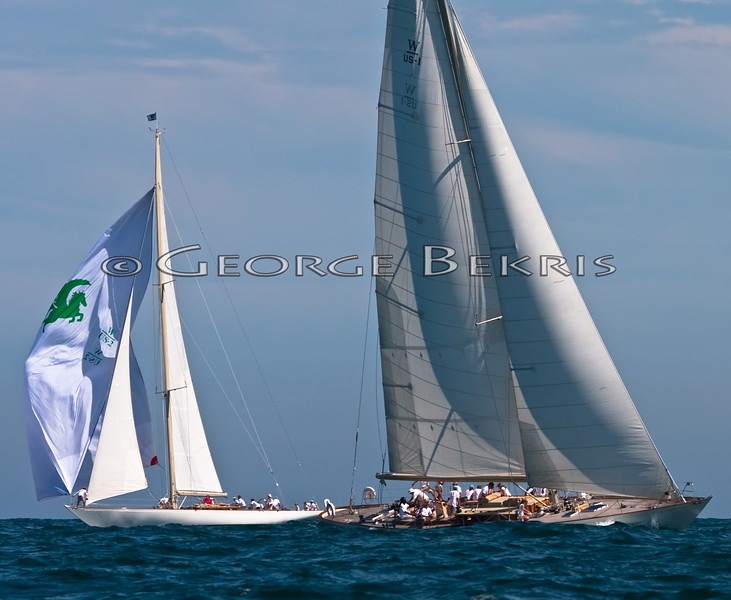 Newport Bucket Regatta<br /> White Wings<br /> Wild Horses