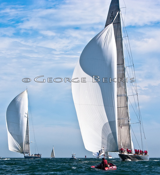 Newport Bucket Regatta<br /> Hanuman and Fleet