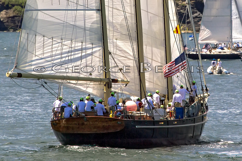 SPIRIT OF BERMUDA  <br /> BER 688  Bermuda Sloop Foundation<br /> Class 0