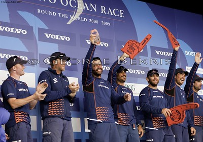 Volvo Ocean Race , Finish in Boston Leg 6 ,2009