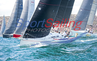 Nine Dragons - by www.sportsailingphotography.com  Pittwater to Paradise Yacht Racet by Beth Morley at Sport Sailing Photography / www.sportsailingphotography.com