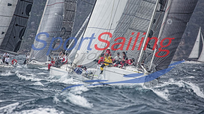 Start Line - Pittwater to Southport Race 2017