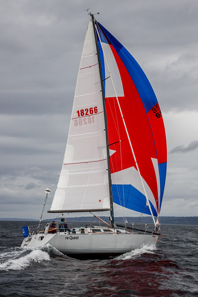NW Harvest Regatta 2020: Double Handed with Andrew