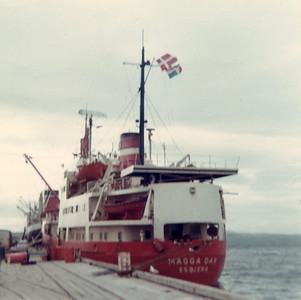"The ""Magga Dan"" was one of the first vessels to carry passengers from Bluff to Antarctica."