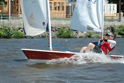 Sailing at QYC 7/13/08