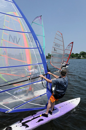 QYC Memorial Day Windsurfing Regatta 2012
