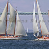Schooner Juno and Ticonderoga 100